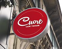 Marca Gráfica Cuore Café