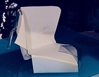 INDUSTRIAL DESIGN-Chair Design for the glass concept