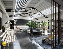 CGI inspired by Talisman Building interior | 3D art