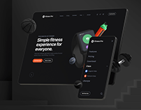 Fitness Pro: Website UI Kit
