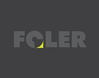 FOLER, papel diseño de branding