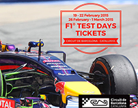 F1 Test Days - Barcelona 2015