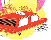 Taxi in Yangon