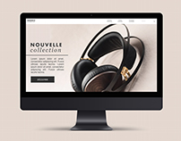 Phoenix Headphones | Site vitrine