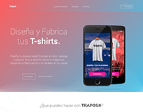 Trapos - Landing Page