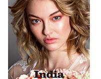 India Gants for Ellements Magazine