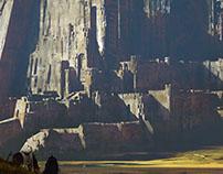 Giant castle