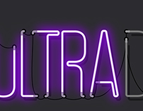 Ultra Music album design & animation