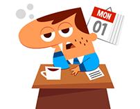 Business Man - Social media app stickers