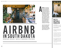 Airbnb in South Dakota Layout Design