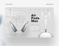 AirPods Max | Concept landing page | Apple