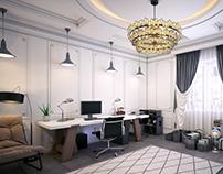(study room)
