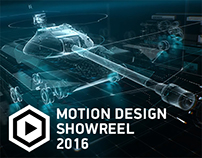 Motion Design Showreel 2016