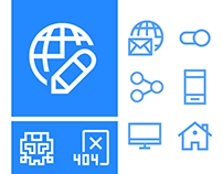 Free Windows web design icons