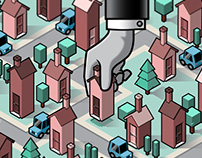(Un)real Estate | isometric illustration