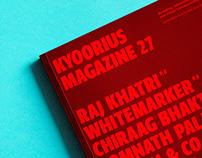 KYOORIUS MAGAZINE 27