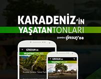 Giresun'u Keşfet (Web + Android APP)