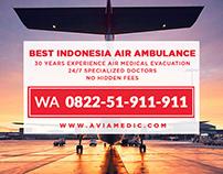 WA 0822-51-911-911 - Air Ambulance Service, Medical Eva