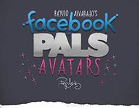 "Payulo Alvarado's ""Facebook Pals Avatars"""