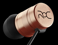 Christiano Ronaldo ROC Earbuds Product Rendering