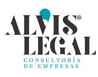 Imagen corporativa consultoría de empresas Alvis Legal.