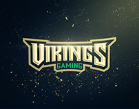 Vikings Gaming - Logo for Sale -