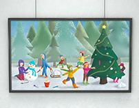 Kindergarten Seasonal Illustrations
