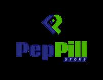 PepPill Logo Design