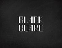 Black Board Font