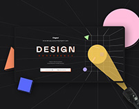 Design Conference Website 2020
