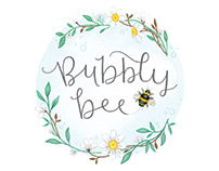 Bubbly Bee Branding