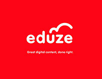 Eduze identity, digital design direction and app design