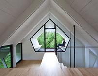 La Colombière in Sutton, Canada by YH2 Architecture