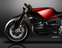 BMW R nine T Custom - Naked Cafe