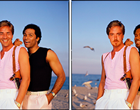 Miami Vice Face Swap
