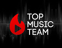 Top Music Team - Corporate Identity