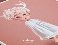 "Character Illustration ""Baby Elf"""