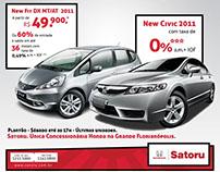Honda Satoru - Identity and Campaign