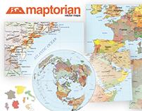 Maptorian World Vector Maps