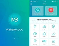 MakeMy DOC - Clinic Management and Healthcare App