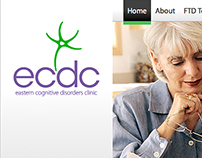 Eastern Cognitive Disorders Clinic Website Design