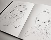 Hair Mist Illustrations