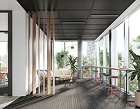 Interior Design Office Space Interior Visualization