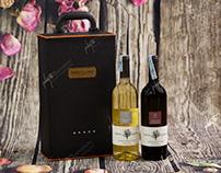 Chụp ảnh sản phẩm rượu vang