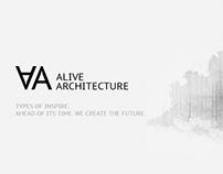 Promo site AliveArchitecture