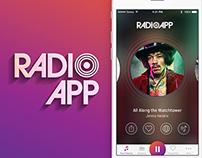 RadioApp | App Design & Branding