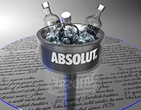 Serving Materials for Absolut