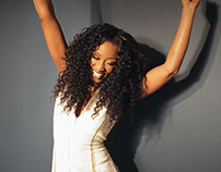 Mizani Ambassador Shoot with Beverley Knight