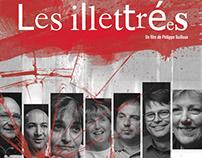 """Affiche du film """"Les illettrées"""" (2018)"""