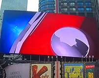 Times Square video spot